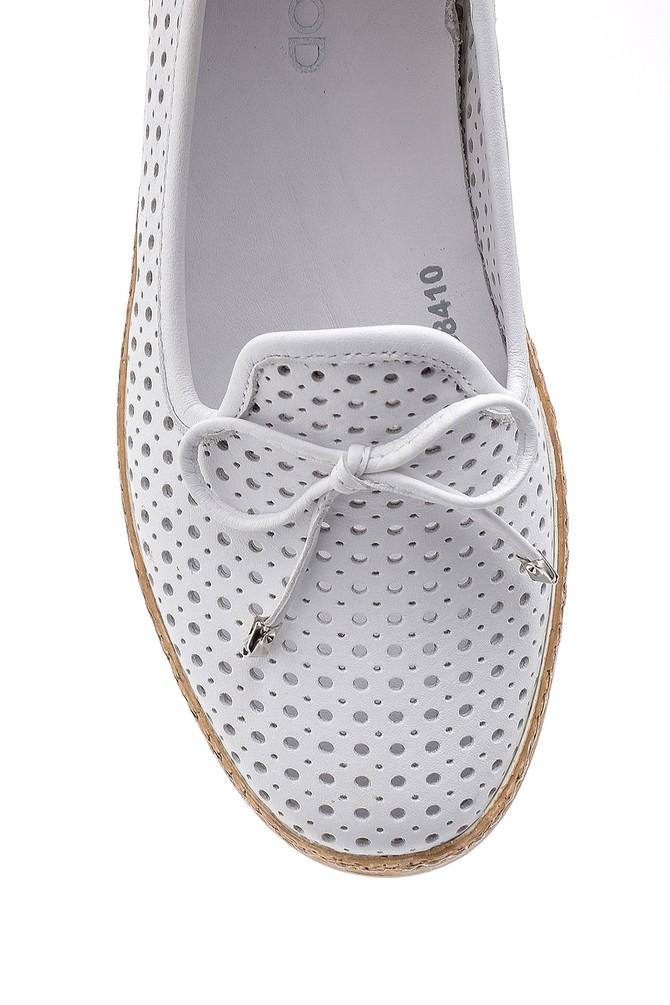 5638187355 Kadın Deri Casual Loafer