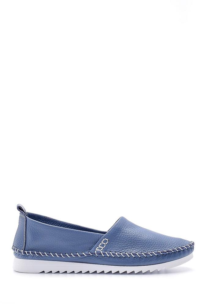 Mavi Kadın Deri Ayakkabı 5638189423
