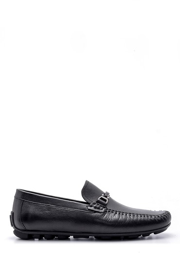 Siyah Erkek Deri Loafer 5638155077