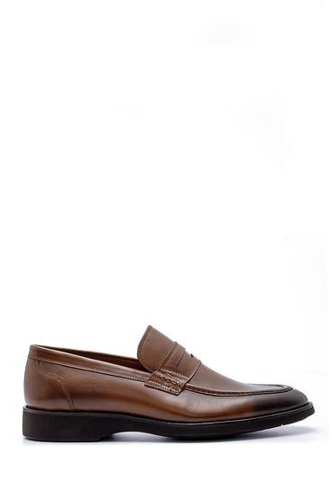 Kahverengi Erkek Deri Klasik Loafer 5638155205