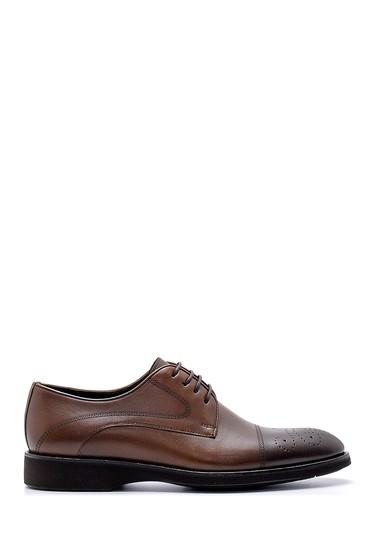 Kahverengi Erkek Deri Klasik Ayakkabı 5638155391