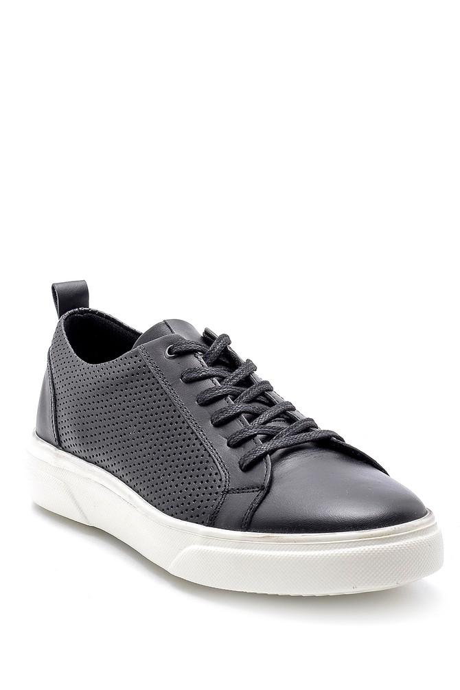 5638135476 Erkek Deri Sneaker