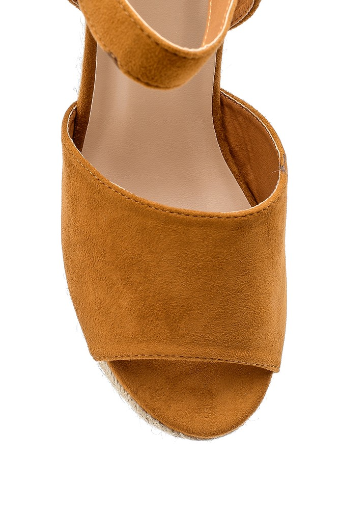5638136029 Kadın Dolgu Topuklu Sandalet