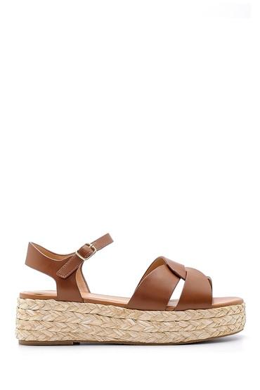 Kahverengi Kadın Sandalet 5638136500