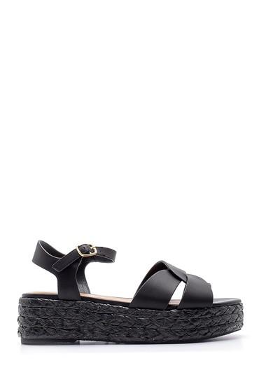 Siyah Kadın Sandalet 5638136502