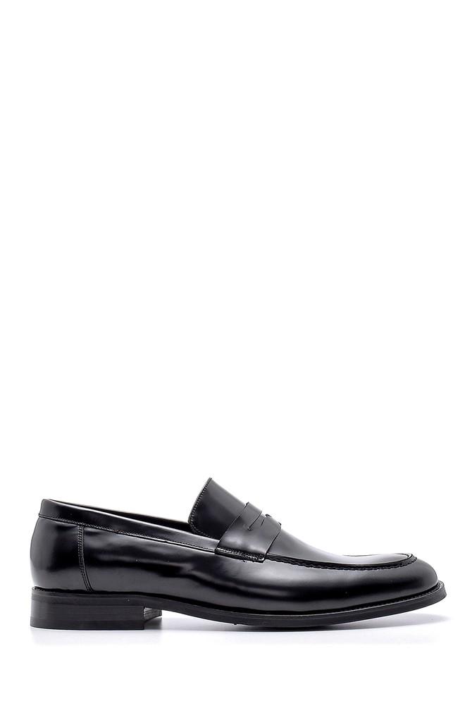 Siyah Erkek Deri Klasik Loafer 5638149916