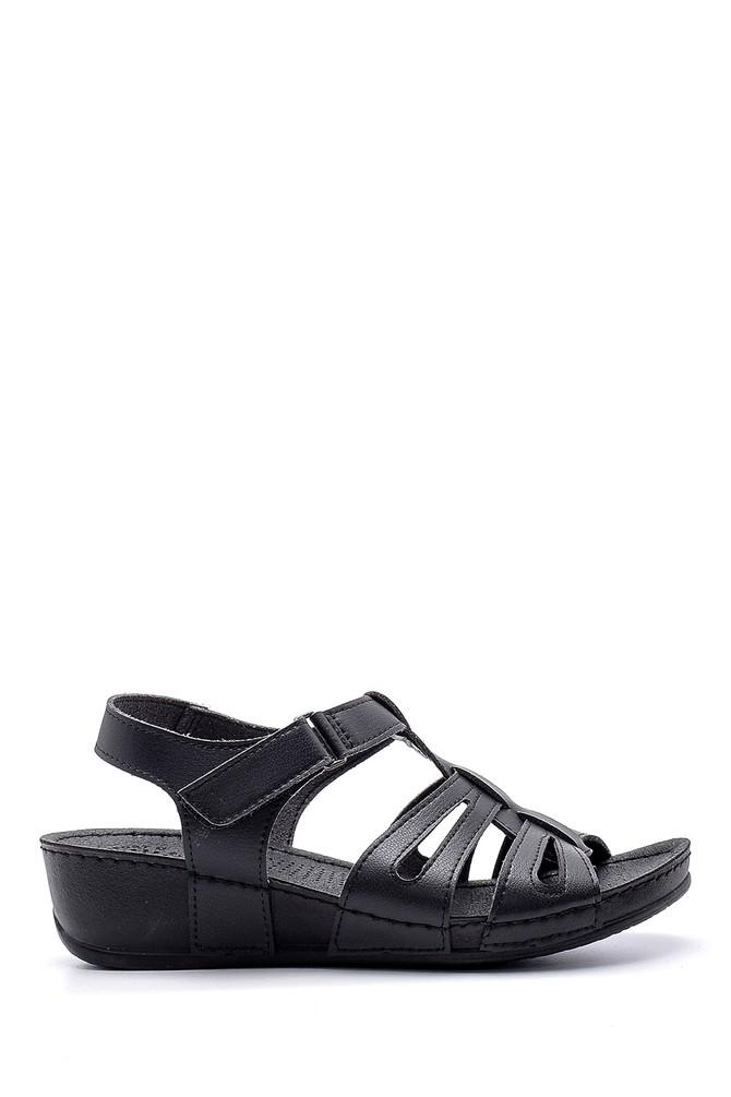 Siyah Kadın Sandalet 5638160187