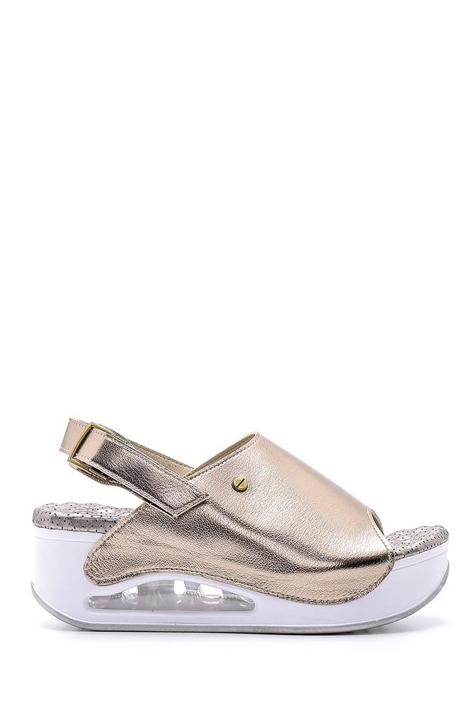 Sarı Kadın Sandalet 5638160355