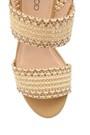 5638136107 Kadın Hasır Topuklu Sandalet
