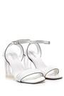 5638136192 Kadın Şeffaf Topuklu Sandalet
