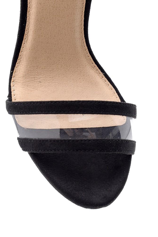 5638136236 Kadın Şeffaf Topuklu Sandalet