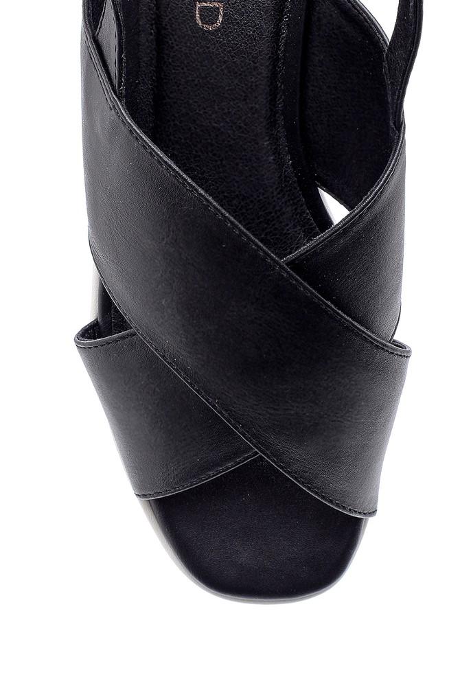 5638136297 Kadın Dolgu Topuk Sandalet
