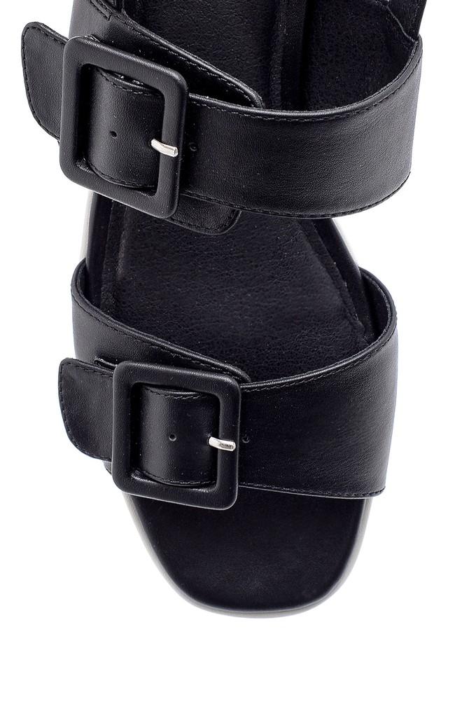 5638136364 Kadın Dolgu Topuk Sandalet
