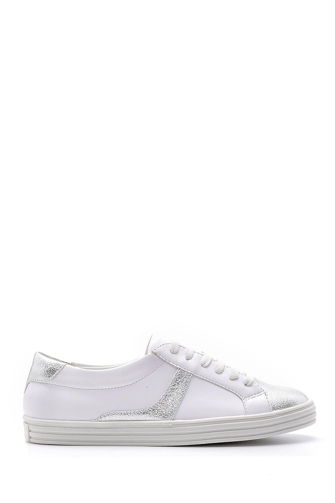 Gümüş Kadın Sneaker 5638121562