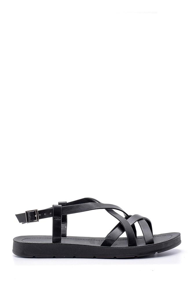 Siyah Kadın Sandalet 5638126105