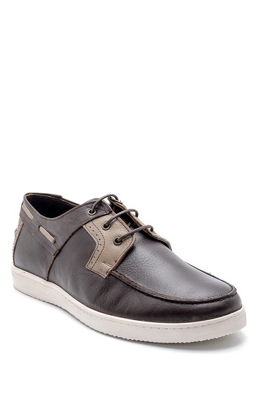 Kahverengi Erkek Deri Casual Ayakkabı 5638134631