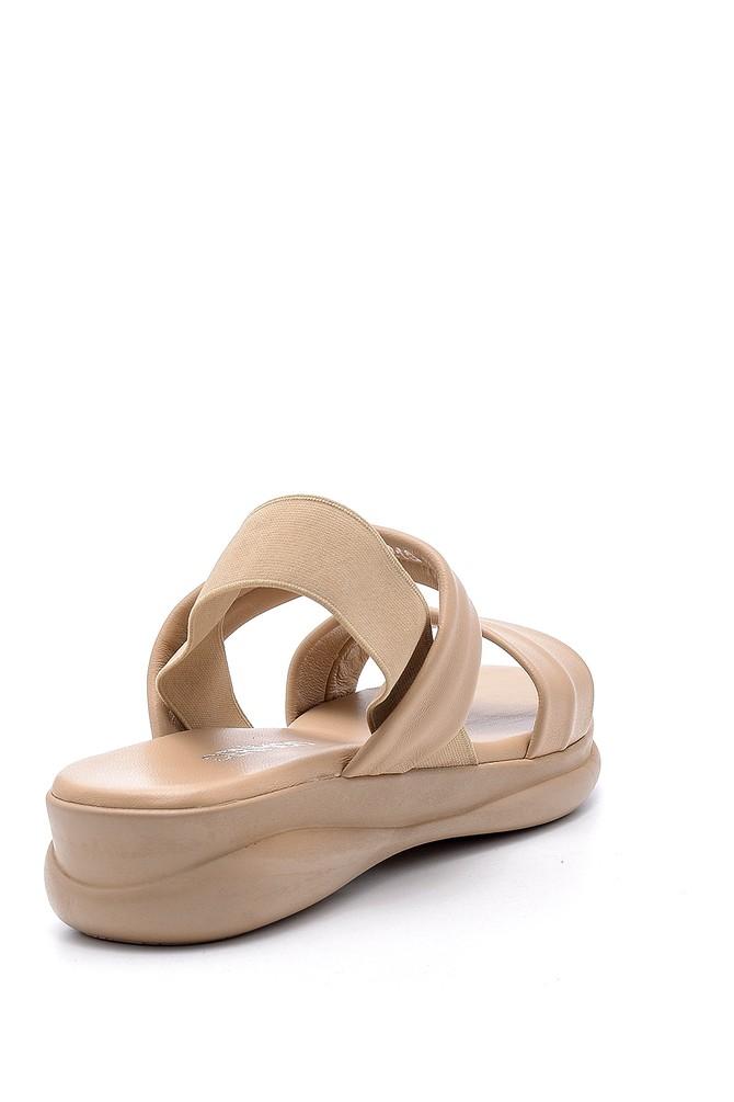 5638152796 Kadın Deri Sandalet