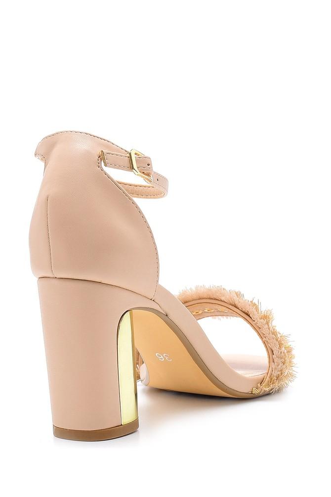 5638125672 Kadın Topuklu Sandalet
