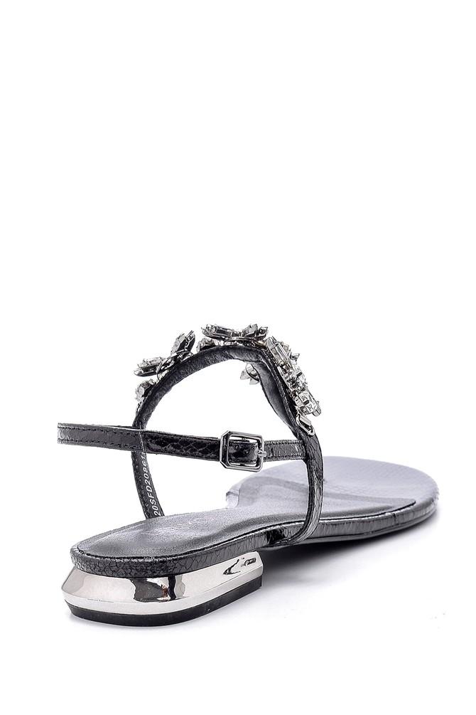 5638135708 Kadın Taşlı Sandalet