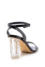 5638136183 Kadın Şeffaf Topuklu Sandalet