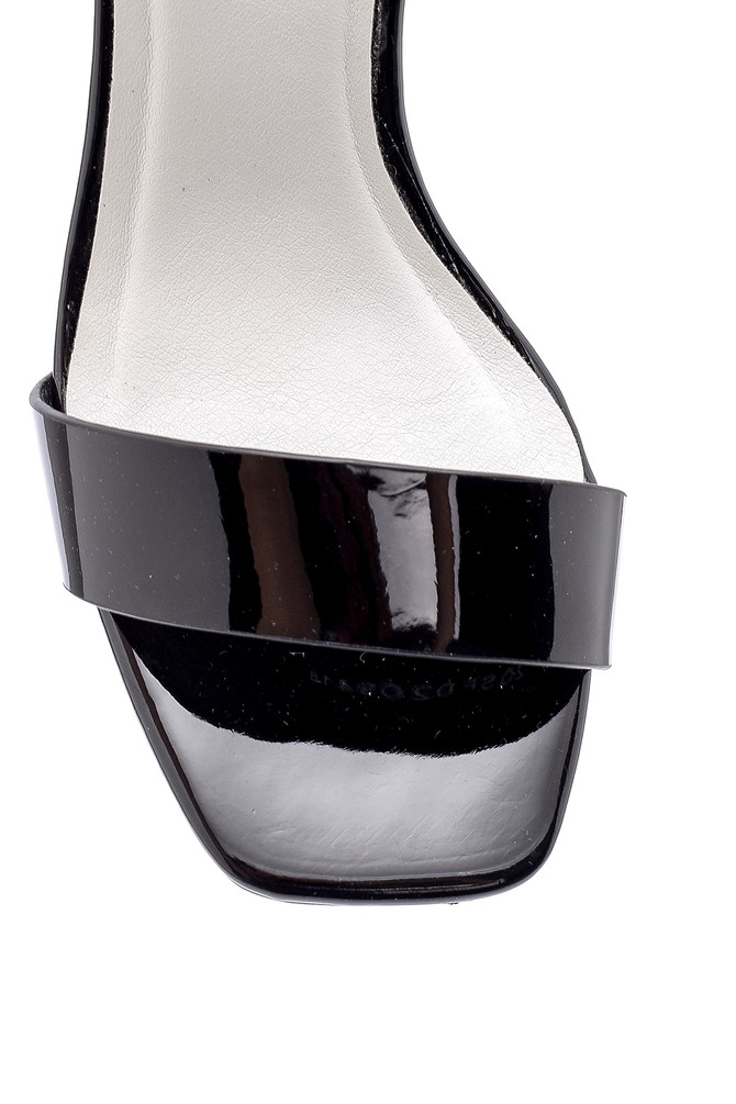 5638136198 Kadın Şeffaf Topuklu Sandalet