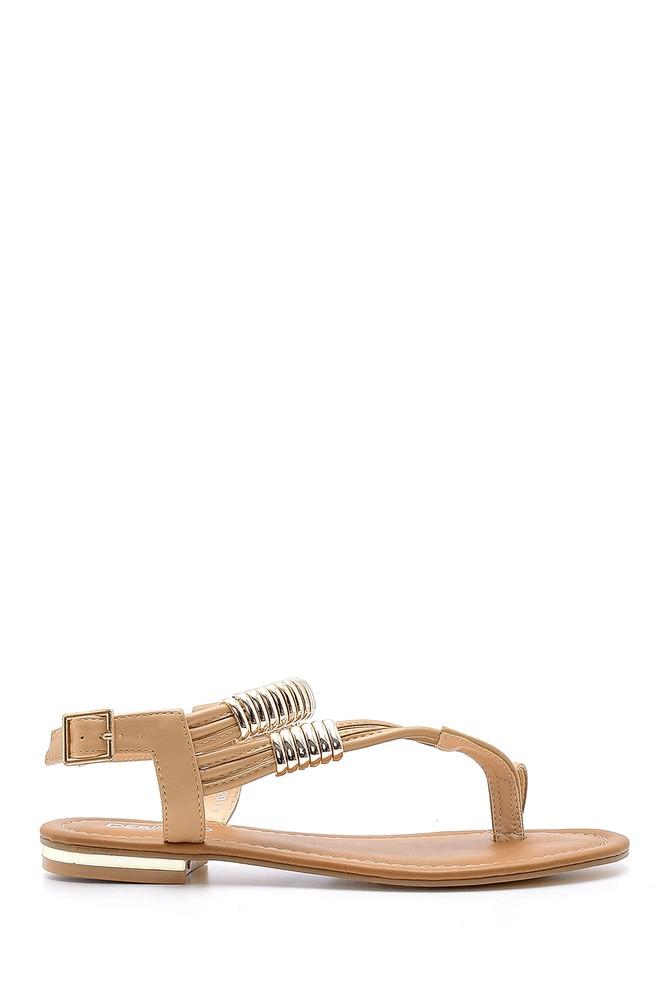 Kahverengi Kadın Sandalet 5638127824