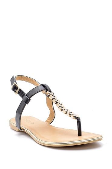 Siyah Kadın Sandalet 5638137438
