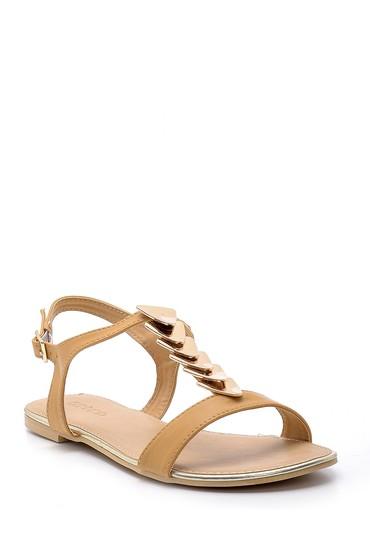 Bej Kadın Sandalet 5638137457