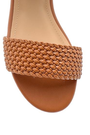 Taba Kadın Toka Detaylı Sandalet 5638137517