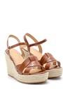 5638137595 Kadın Dolgu Topuklu Sandalet