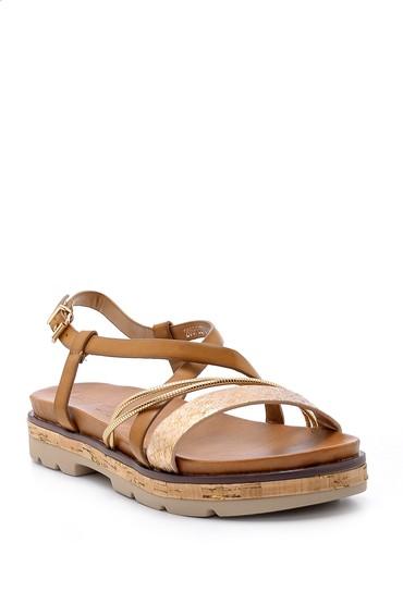 Kahverengi Kadın Sandalet 5638138200