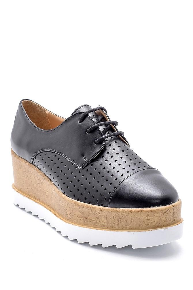 5638123366 Kadın Yüksek Tabanlı Ayakkabı