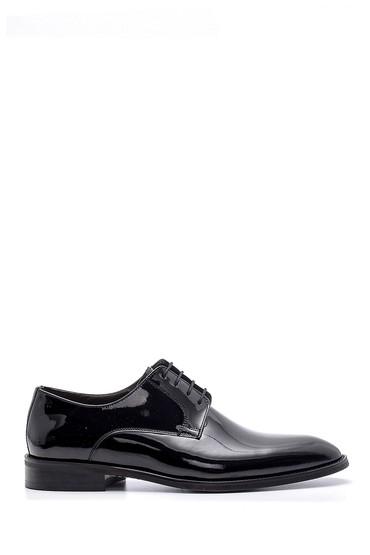 Siyah Erkek Rugan Klasik Ayakkabı 5638148693
