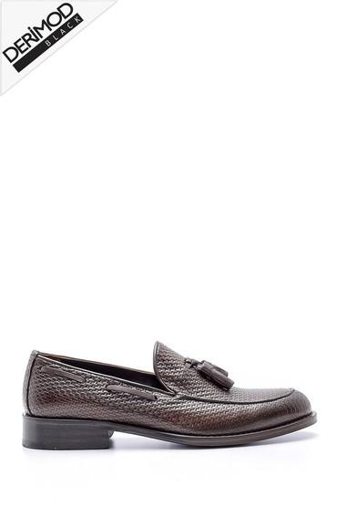 Kahverengi Erkek Deri Ayakkabı 5638162657