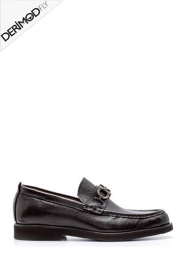 Kahverengi Erkek Deri Loafer 5638162692