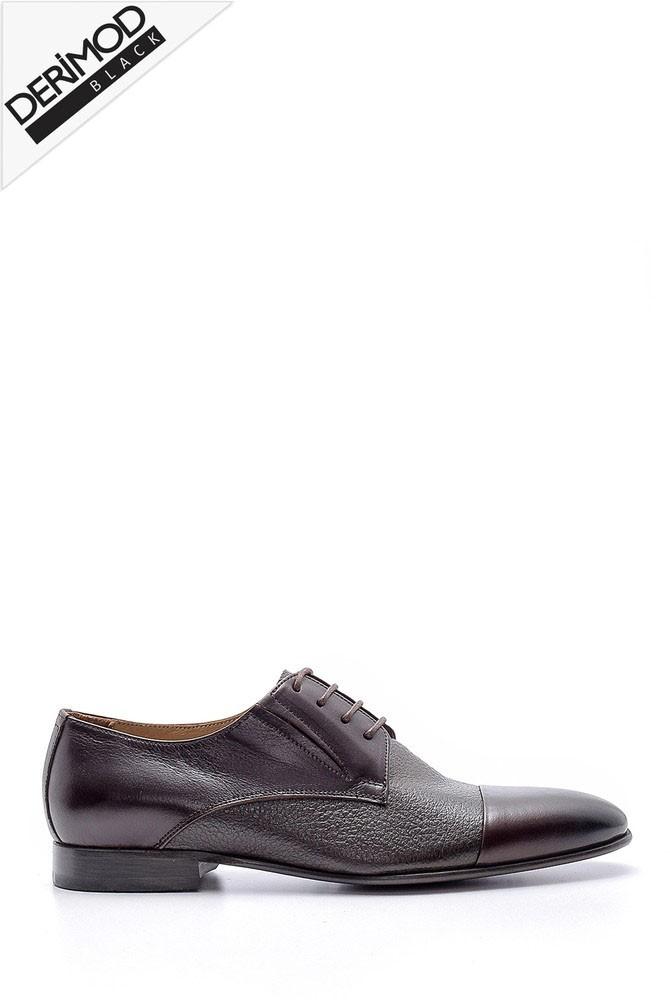 Kahverengi Erkek Deri Ayakkabı 5638162727