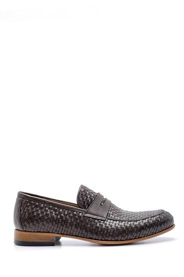 Kahverengi Erkek Deri Klasik Loafer 5638162750