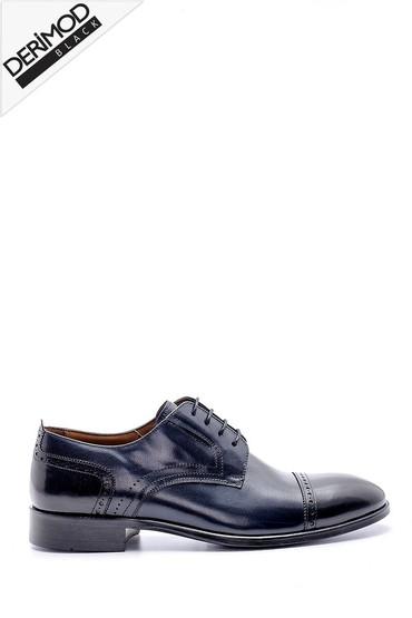 Lacivert Erkek Deri Klasik Ayakkabı 5638169315