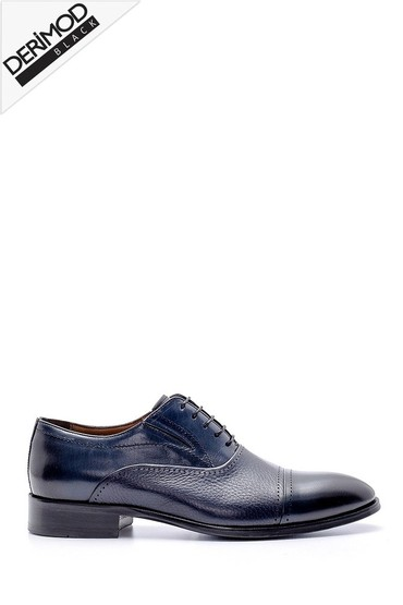 Lacivert Erkek Deri Klasik Ayakkabı 5638169361