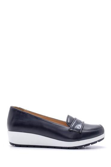 Lacivert Kadın Yüksek Tabanlı Ayakkabı 5638121428