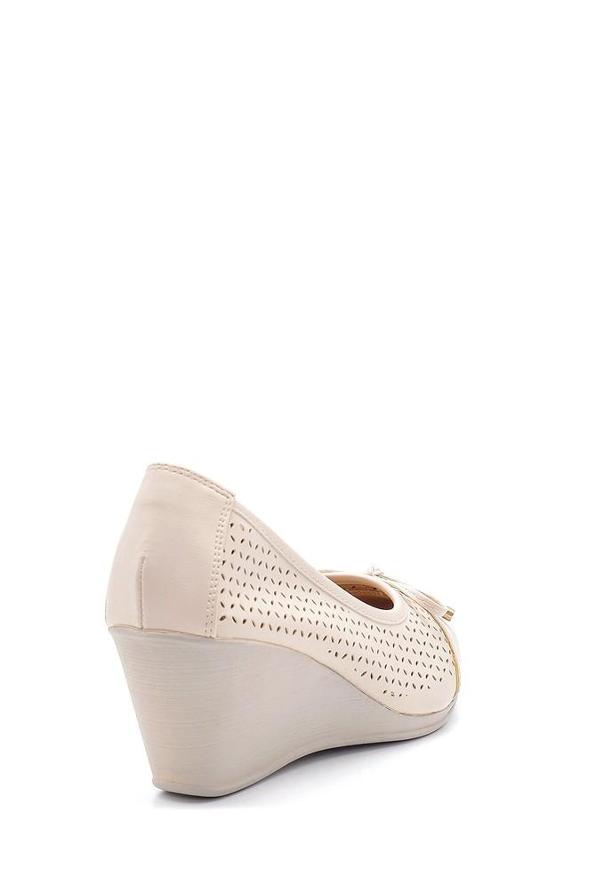5638121730 Kadın Dolgu Topuklu Ayakkabı
