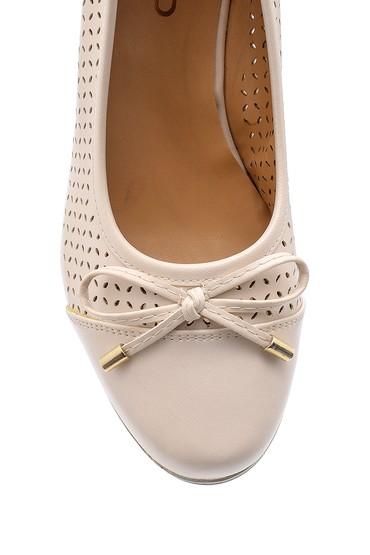 Bej Kadın Dolgu Topuklu Ayakkabı 5638121730