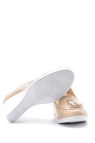 Kadın Rugan Dolgu Topuklu Ayakkabı