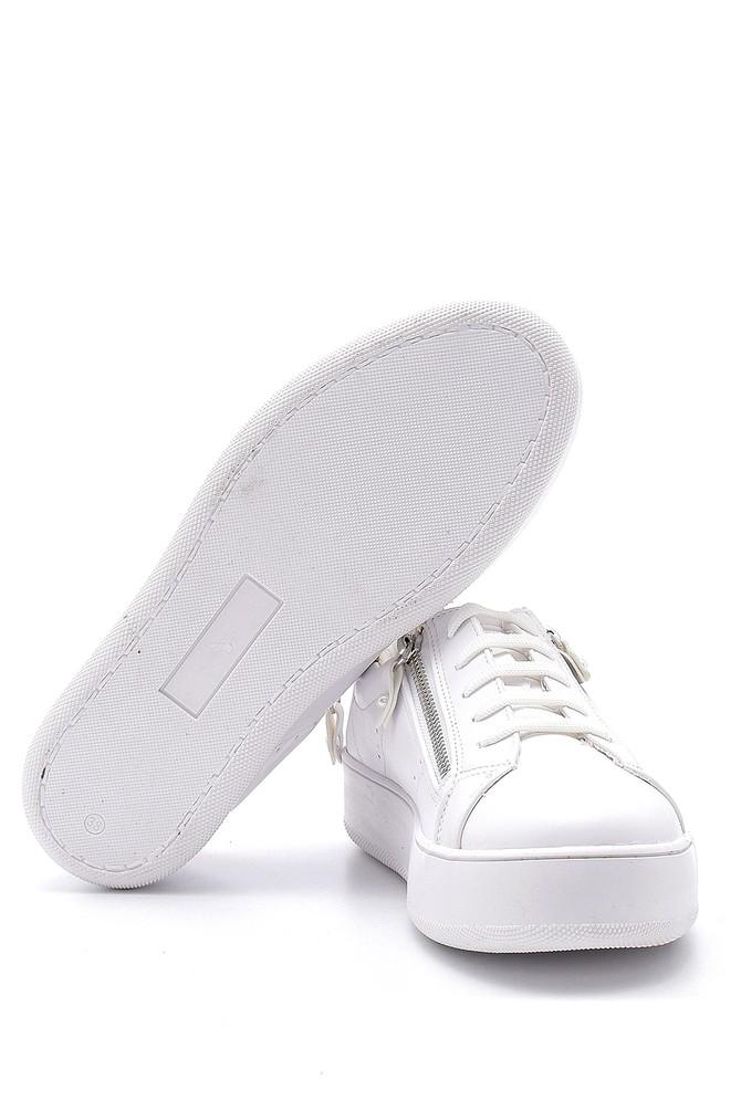 5638121646 Kadın Fermuar Detaylı Sneaker