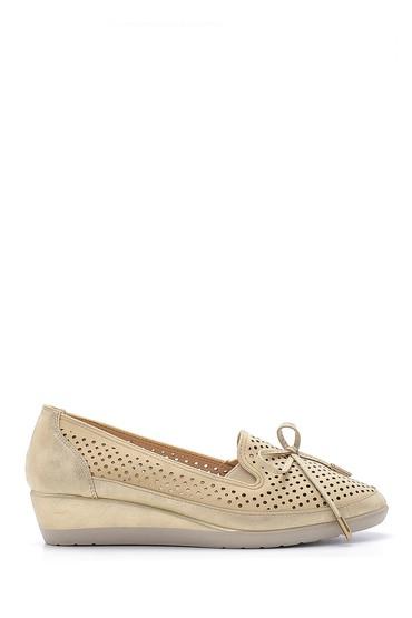 Bej Kadın Yüksek Tabanlı Ayakkabı 5638125152