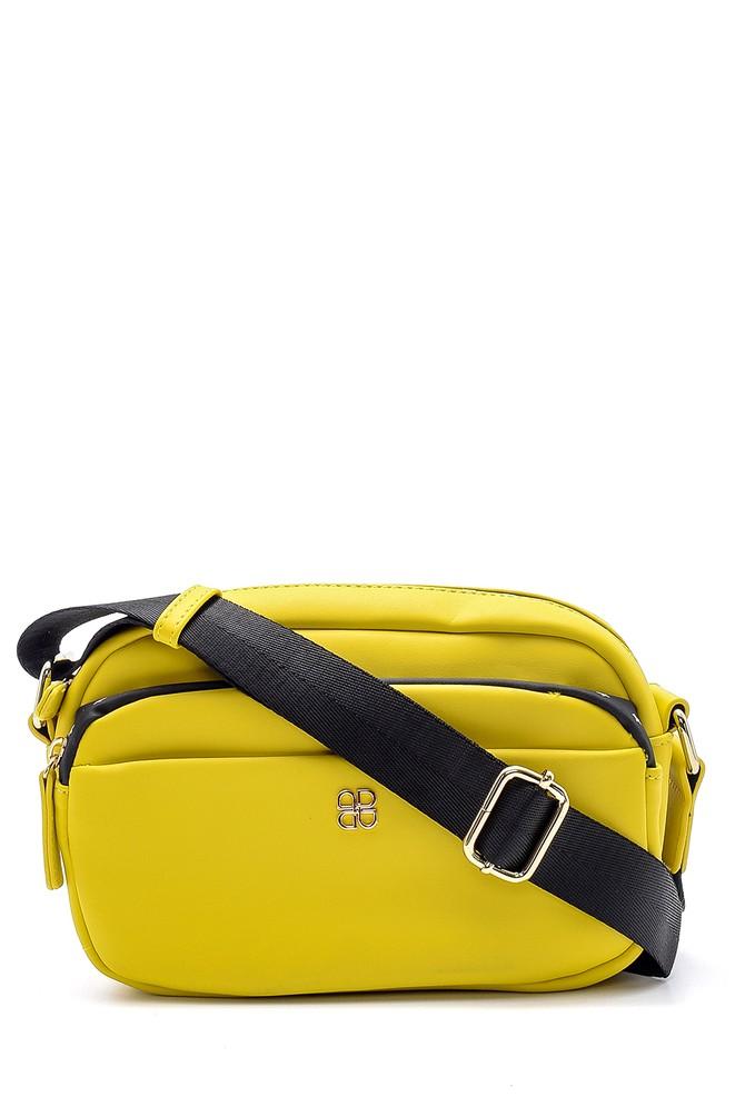 Sarı Kadın Çapraz Çanta 5638150181