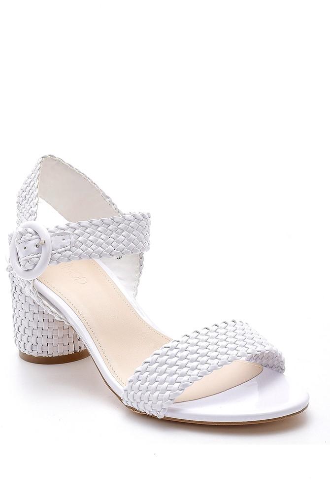 5638128921 Kadın Topuklu Sandalet