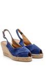 5638162185 Kadın Süet Dolgu Topuklu Ayakkabı