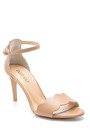5638162545 Kadın Deri Topuklu Sandalet