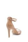 5638162551 Kadın Deri Topuklu Sandalet